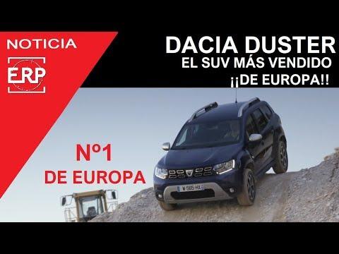 DACIA DUSTER el SUV más vendido de Europa. Supera al Nissan Qashqai.
