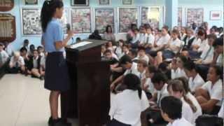 Julia Foote's SC Speech '13