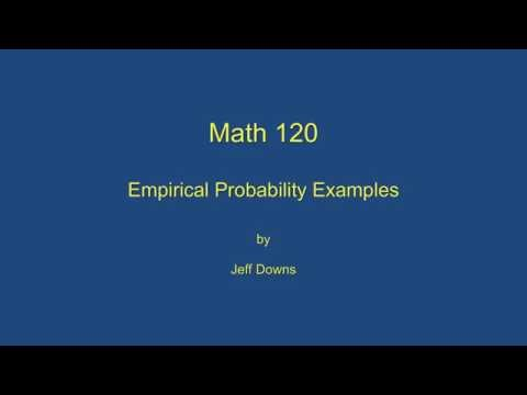 theoretical vs empirical probability essay example Probability is statement about possibility of occurrence an event that is expressed as numerical value between 0 and 1 get probability assignment help.