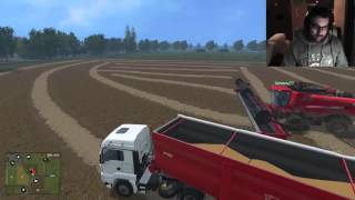 fullhd ep 63 farming simulator 2015 ironfarmer serie north brabant puntata 63