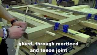 How we make our wooden gates