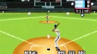 Game Boy Advance High Heat Major League Baseball 2003