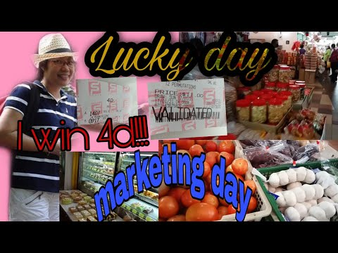 OFW LIFE IN SINGAPORE / Lucky marketing day