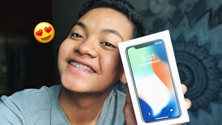 VLOG : I BOUGHT AN IPHONE X!!