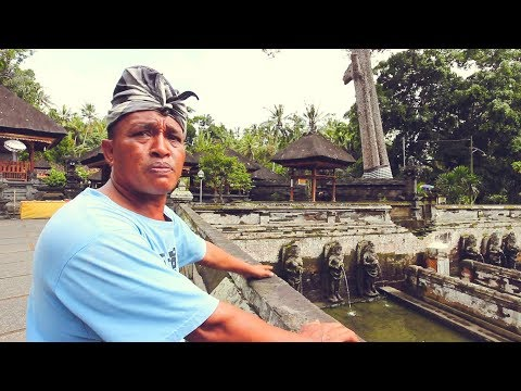 Bali Temple SCAM! - Goa Gajah Temple, Elephant Cave