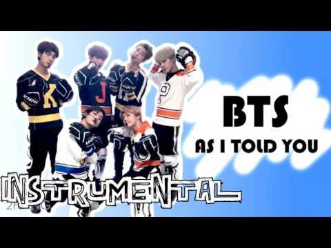BTS – As I Told You, 방탄소년단 - 말하자면 (Instrumental/karaoke/off vocal) REMAKE