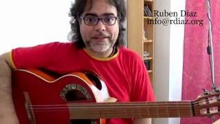 All about how YOU practice Rasgueo n.2 /Paco de Lucia´s technique modern flamenco guitar /Ruben Diaz