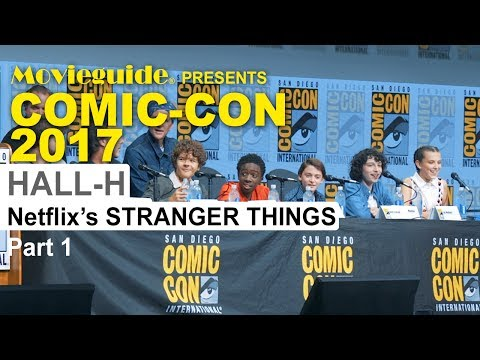 STRANGER THINGS 2 Comic-Con Panel SDCC 2017 pt 1