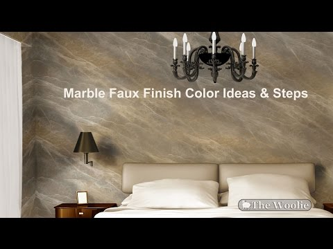 MARBLE Painting Faux Painting Walls, Colors, Ideas,  (How To Paint Walls) #FauxPainting