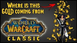 Classic WoW - Getting Gold While Leveling.