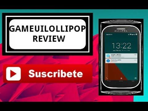REVIEW DE LA ROM GAMEULOLLIPOP |•Alcatel pop C1,C2 & C3,C5...
