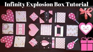 DIY Valentine's Day Gift | Never Ending Box DIY | Infinity Explosion Box Tutorial