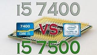 i5 7400 vs i5 7500 benchmarks gaming tests review and comparison kaby lake vs kaby lake