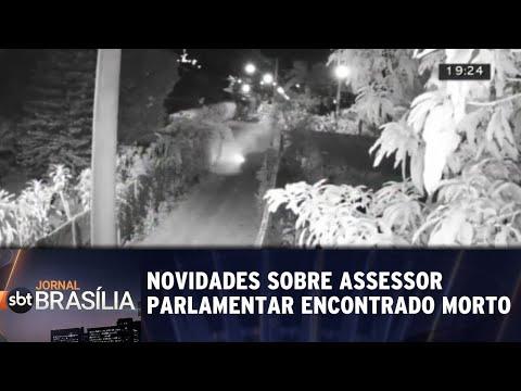 Novidades sobre assessor parlamentar encontrado morto no lago | Jornal SBT Brasília 23/08/2018