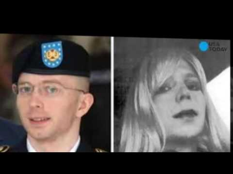Chelsea Manning posts 1st photo revealing new look as a woman