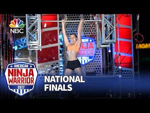 Allyssa Beird at the Las Vegas National Finals: Stage 2 - American Ninja Warrior 2017