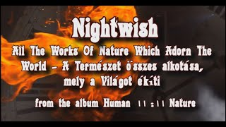 Nightwish - All The Works Of Nature Which Adorn The World - video by palex