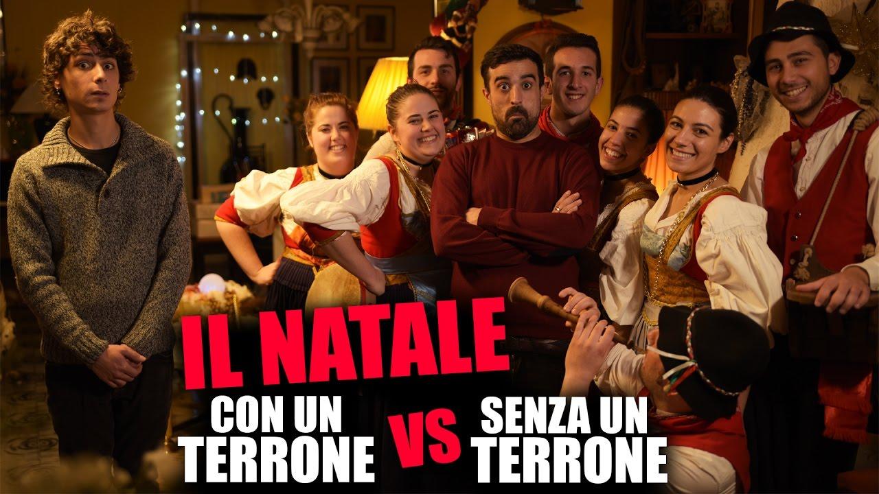 Il Natale CON UN TERRONE vs SENZA UN TERRONE  YouTube