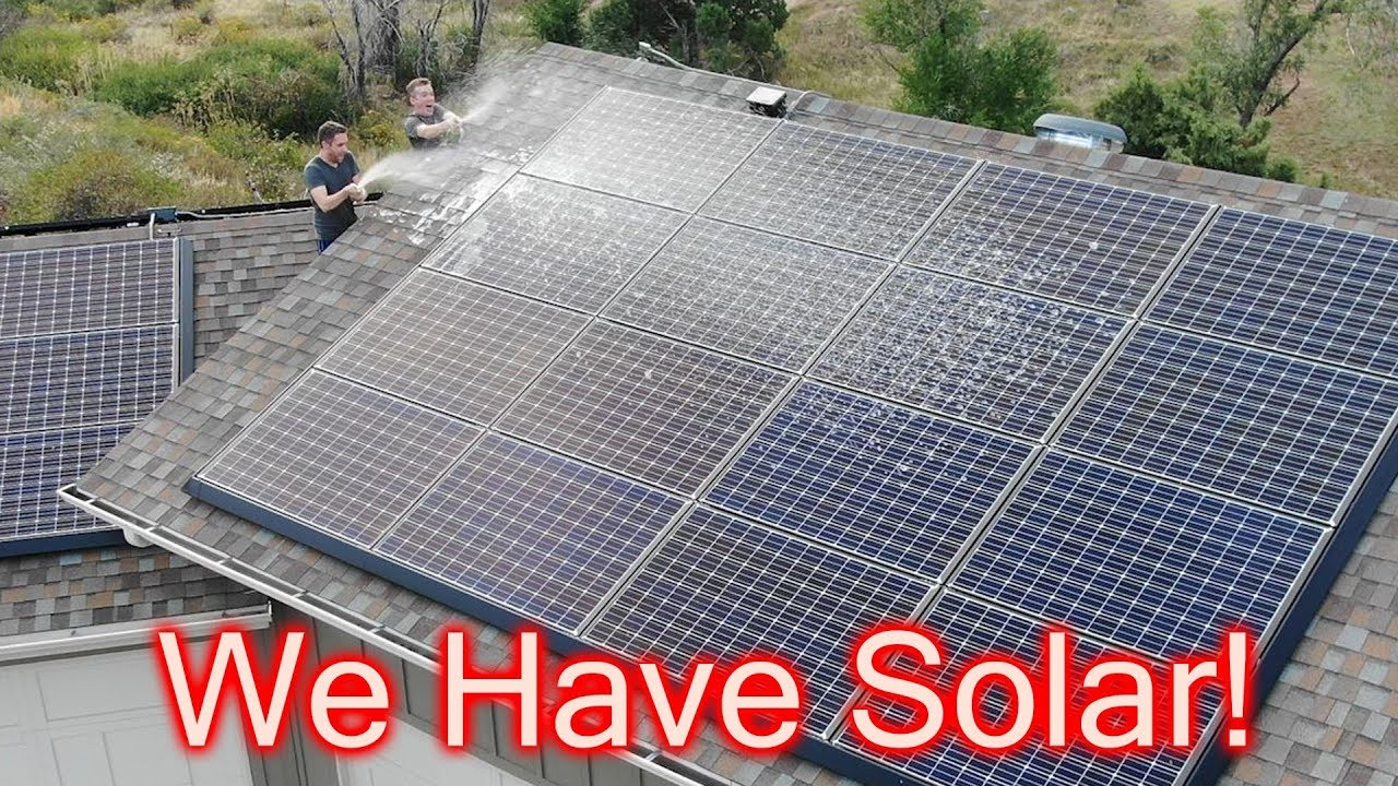 We Can Finally Turn On Our Solar Panels!