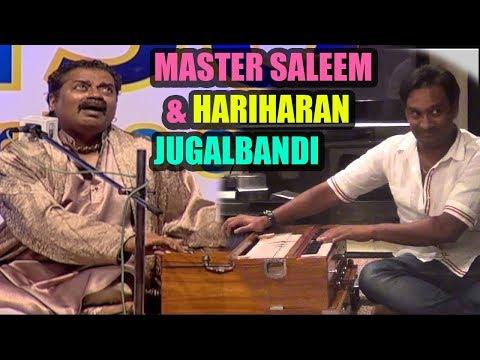 Singers Must Watch - Best Live Jugabandi - मास्टर सलीम & हरिहरन Master Saleem & Hariharan