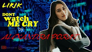 Download Mp3 Don't Watch Me Cry||jorja Smith Cover By|| Alexandra Porat