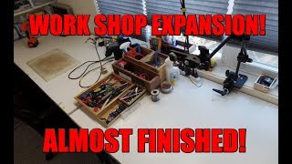 WORK SHOP EXPANSION, ALMOST FINISHED! - RETRO GAMING ARTS
