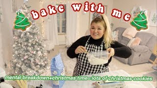 BAKE WITH ME FT. MY EMOTIONAL BREAKDOWN *vlogmas day 3*