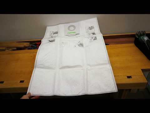 Festool 496187 Selfclean Filter Bag For SC FIS-CT 26//5
