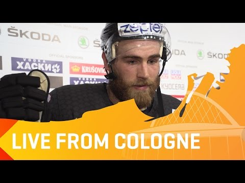 Post-Game: Team Canada's Ryan O'Reilly and Nate MacKinnon after SF win | #IIHFWorlds 2017
