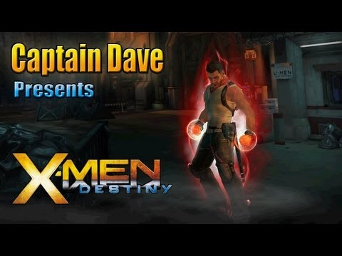 X-Men Destiny: Shadow Matter: Walkthrough Part 1 - Welcome To The World (X-Treme Difficulty)