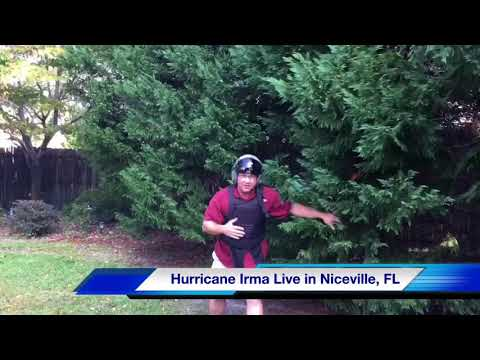 Hurricane Irma Live Coverage from Niceville, FL