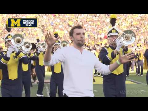 """Broadway"" - September 24, 2016 - The Michigan Marching Band"