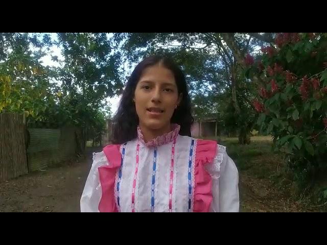 #JóvenesQueTransforman VALENTINA BOTACHE Jóvenes Sembrando Paz en el Santuario. Caquetá. Amazonía