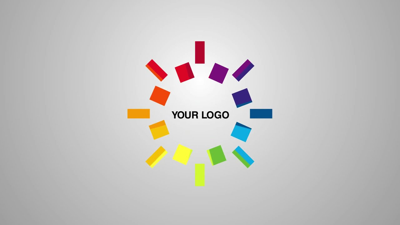 Social Media Icons Network Animation After Effects Template