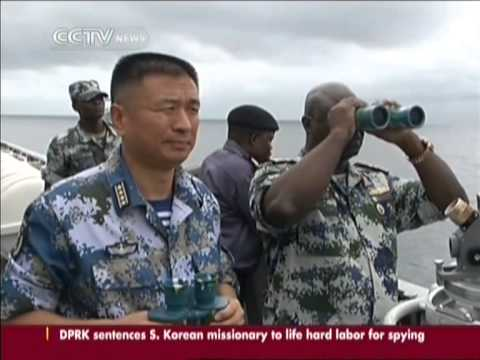 China & Nigeria: Defense strategies practised off the Gulf of Guinea