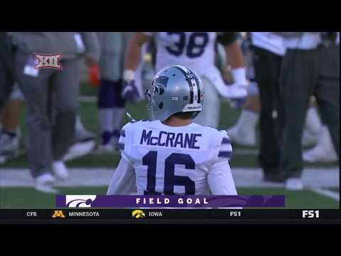 Kansas State vs Kansas Football Highlights