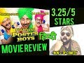 Poster Boys Movie Review | Poster Boys Review | Hindi | India | 3.25/5 stars | Sunny Deol | Bobby