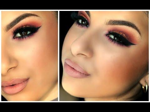 Warm Spring Smokey Eyes   Makeup By Leyla