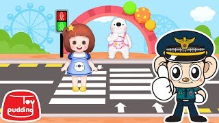 Baby Doli safety song and Police man  - ToyPudding