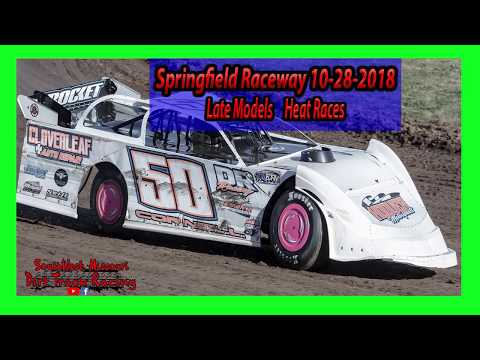 Late Models - Heat Races - Springfield Raceway 10/28/2018 - Willard Project Grad