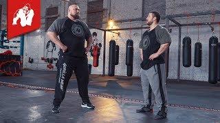 Bodybuilder meets Strongman I Gorilla Wear Athletes