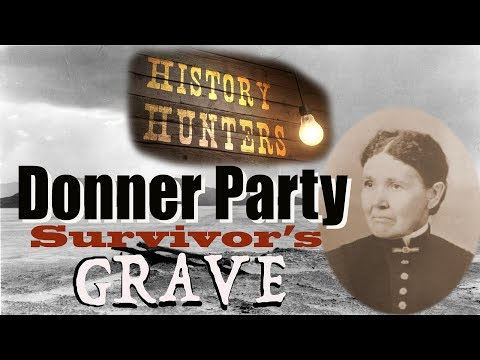 Donner Party Survivor's Grave & Jamestown Home