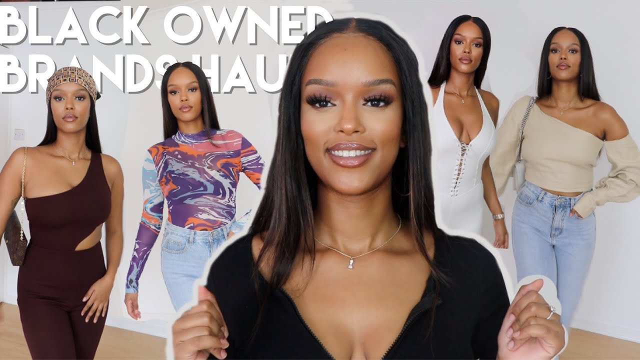 BLACK OWNED BRANDS TRY-ON HAUL + STYLING LOOKS | Only Bells