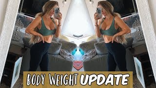 BODY WEIGHT UPDATE | FIX FOR SORE MUSCLES??
