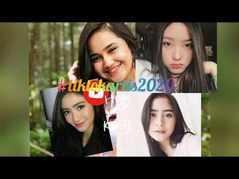 Tik Tok Artis Cantik INDONESIA 2020