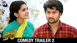 Ninnu Kori Telugu Movie Comedy Trailer #2 | Nani | Nivetha Thomas | Aadhi | DVV Entertainments