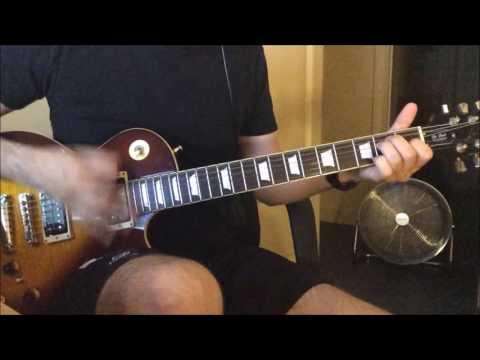 Frank Black - Thalassocracy chords (ryhtm guitar play along)