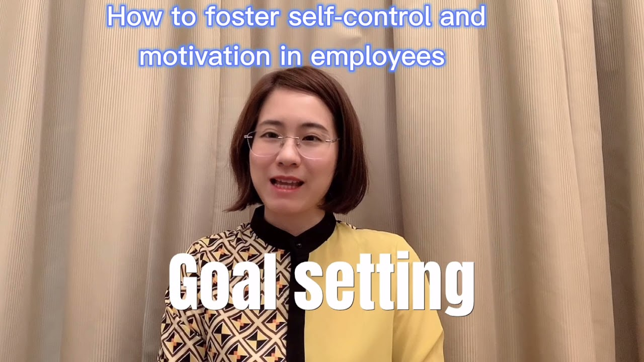 How to Foster Self Control and Motivation in Employees?