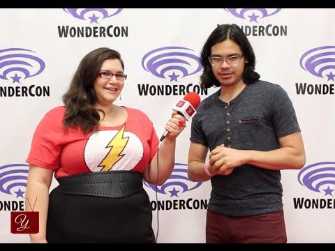 The Flash's Carlos Valdes (Cisco) Interview at WonderCon 2015 | yael.tv