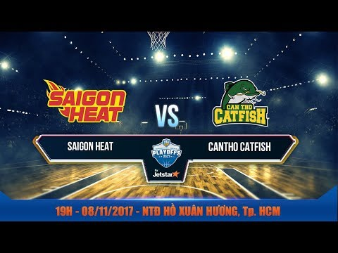 #Livestream VBA 2017 || Bán Kết 1 - Game 1: Saigon Heat vs Cantho Catfish 08/11| VBA 2017 by Jetstar